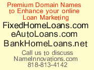 Loan Domain Names for sale